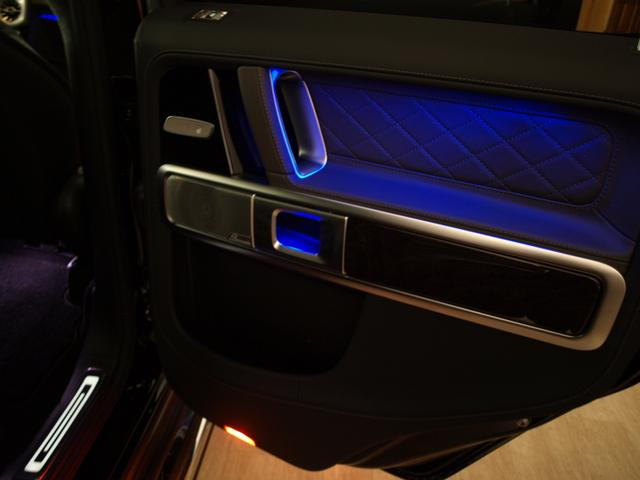G400d マヌファクトゥーアエディション AMGライン・ラグジュアリーパッケージ・限定車・新車保証継承(34枚目)