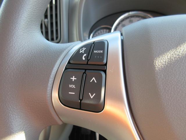 ステアリングリモコン付なので、オーディオ装備の際は安全に操作が可能です。