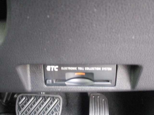 ETC装備☆ビルトインタイプのETCですので、インテリアの邪魔をしません!