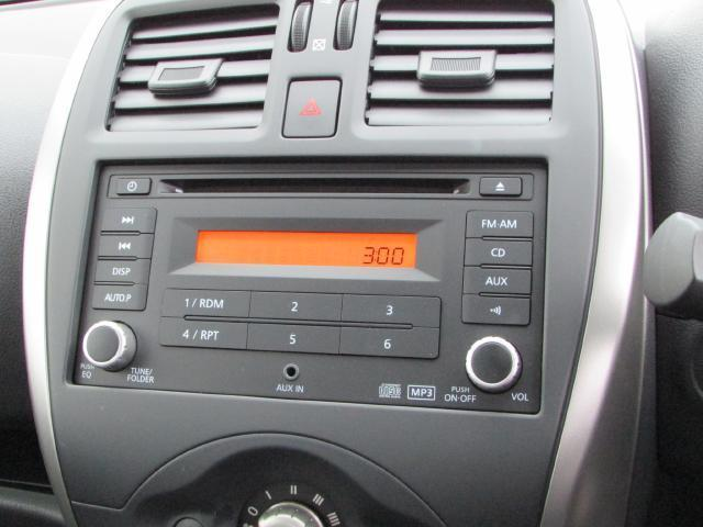日産 マーチ S  CDチューナー付き
