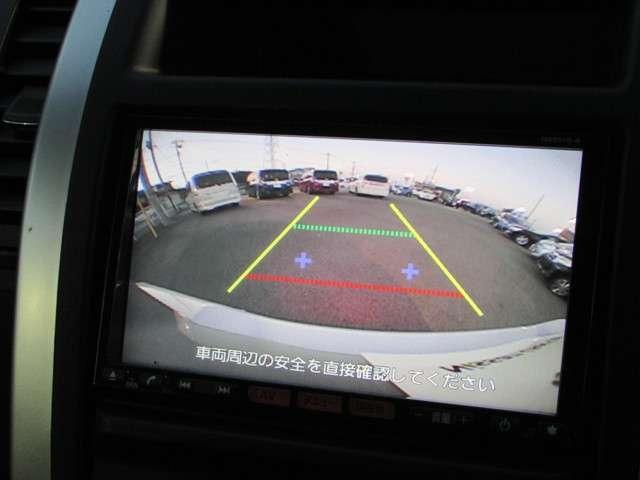 バックビューモニター 後方確認、車輪止めが無い駐車場やコンビニの駐車時に便利◎!