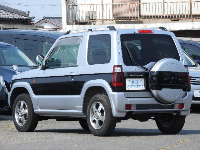 三菱 パジェロミニ LTDエディションVRターボ4WD 地デジMナビ 15アルミ