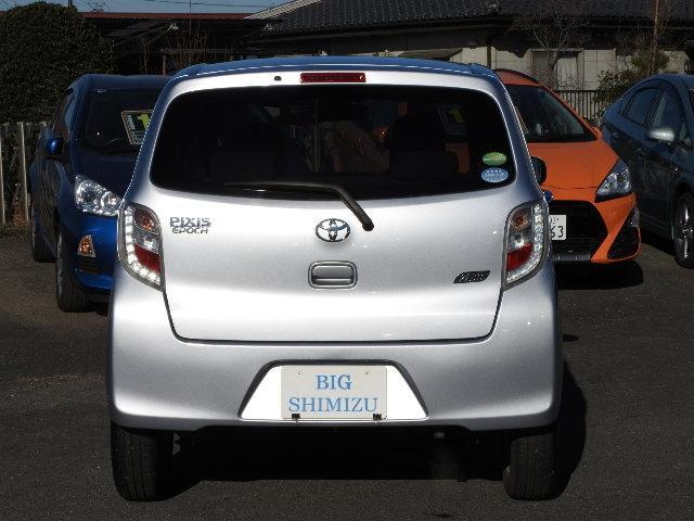 トヨタ ピクシスエポック X SA 純正CD 14アルミ ドアバイザー LブレーキS