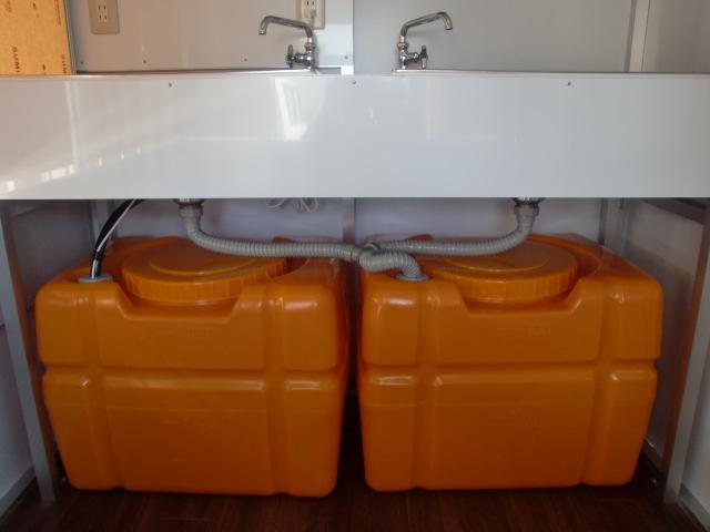 100L給水・排水で都内でもOK。