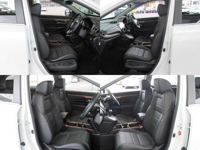 大きなフロントシートでゆったりとドライブ、長距離運転も疲れません♪ハイトアジャスターも付いているのでベストポジションを調整できます。