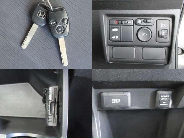 キーレスエントリーはボタンを押すだけでドアノブの施錠・解錠ができますよ!ETCがあれば高速道路の料金所も楽々通過です!