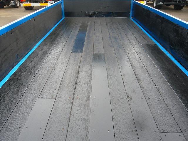 日野 デュトロ 平ボデー標準幅セミロング超低床