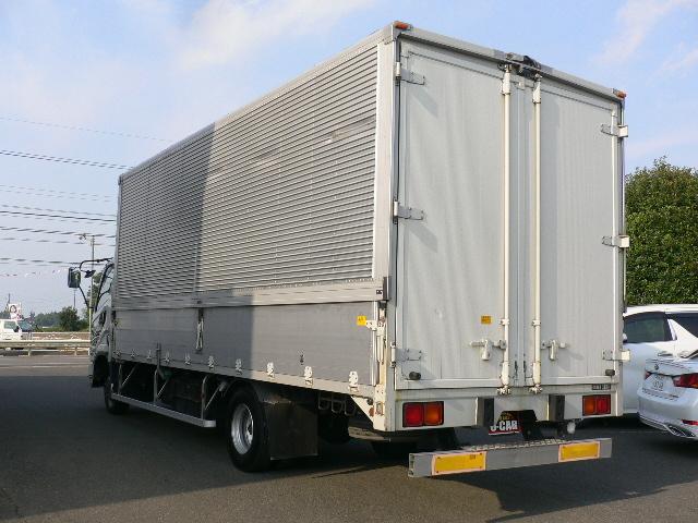 三菱ふそう ファイター ワイド アルミウイング 積載3.2トン ラッシング2段