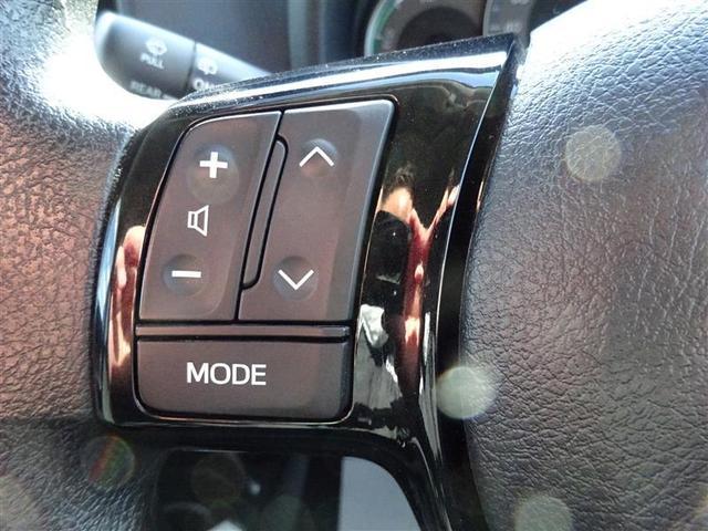 ハンドルの左側のスイッチは、【オーディオの切り替え】・【選局】・【音量調整】が出来ます☆