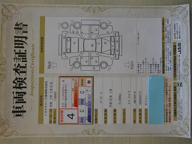 全国トヨタのお店の中でも数少ない【トヨタ認定検査員】が、一台ずつ内外装をチェック♪