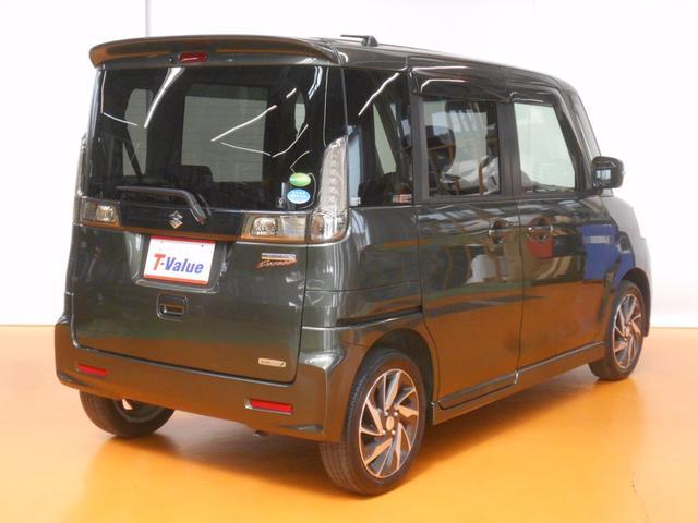スズキ スペーシアカスタム TS ターボ車 アイドリングストップ 両側電動スライドドア