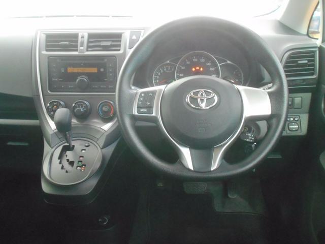トヨタ ラクティス X クルーズコントロール CD キーレス