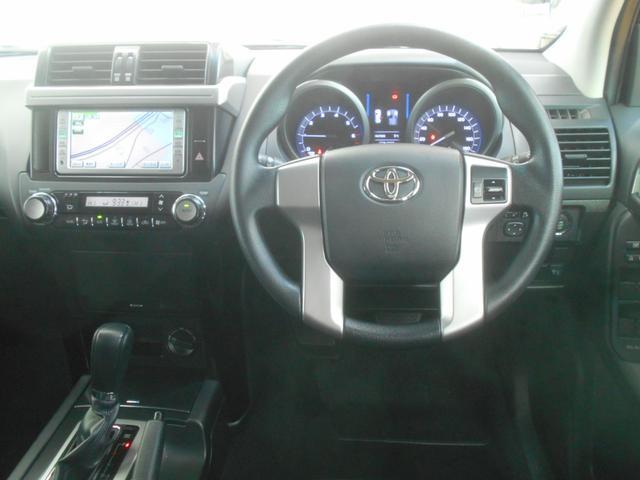 トヨタ ランドクルーザープラド TX  4WD DVDナビ ワTV バックモニタ イモビ