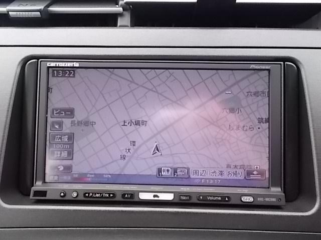 トヨタ プリウス S HDDナビ フTV バックM ETC イモビ 社外アルミ
