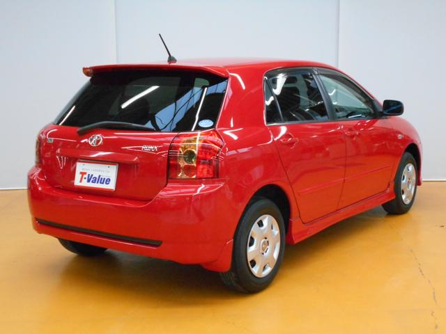 トヨタ カローラランクス X エアロツアラー 4WD DVDナビ キーレス