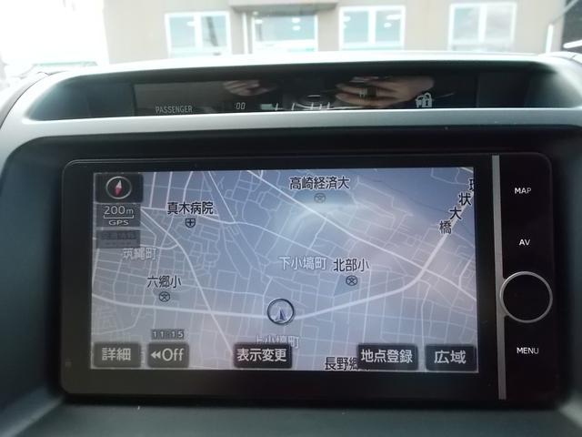 GX 4WD サンルーフ HDDナビ フTV バックM(14枚目)