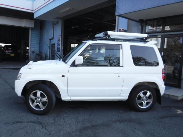 三菱 パジェロミニ VR 4WD TERZOルーフラック タイヤ4本新品交換