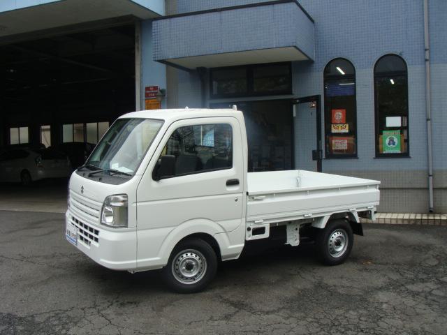 スズキ キャリイトラック KCエアコン・パワステ 4WD 登録済み未使用車 保証付き