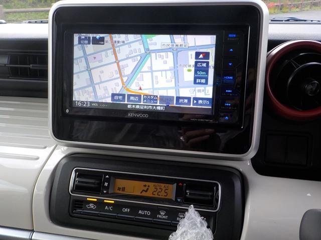 ハイブリッドX マイナー後モデル NWEカラー2-トンホワイトルーフ Bluetooth地デジナビ ハンズフリー USB端子 AUX端子 パワースライドドア シートヒーター 保証付(11枚目)