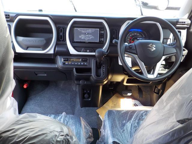 ハイブリッドG Bluetooth地デジナビ付届出済み未使用車 ハンズフリー AUX端子USB端子 シートヒーター 安全装備付きサポカー 保証付(5枚目)