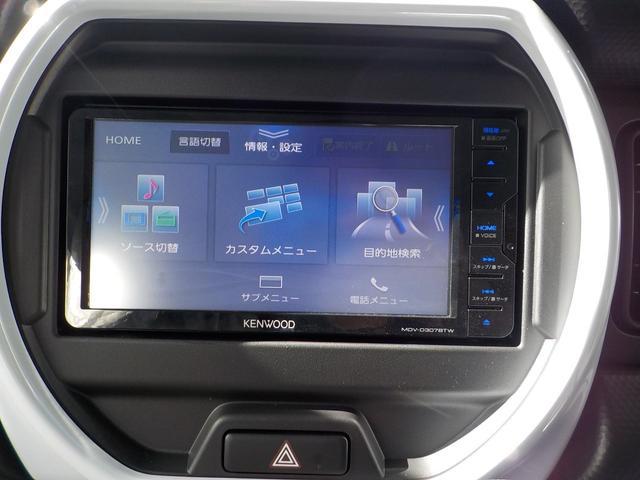 ハイブリッドG Bluetooth地デジナビ付届出済み未使用車 ハンズフリー AUX端子USB端子 シートヒーター 安全装備付きサポカー 保証付(6枚目)