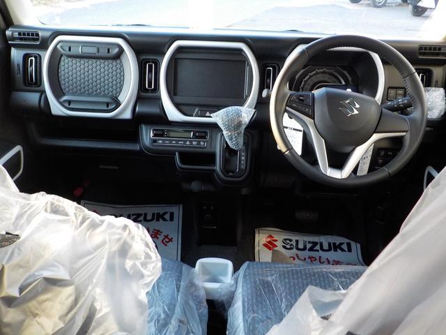 ハイブリッドX Bluetooth地デジナビ付 届出済み未使用車 AUX USB ハンズフリー LEDライト 衝突軽減ブレーキ付 サポカー シートヒーター メーカー保証付(10枚目)