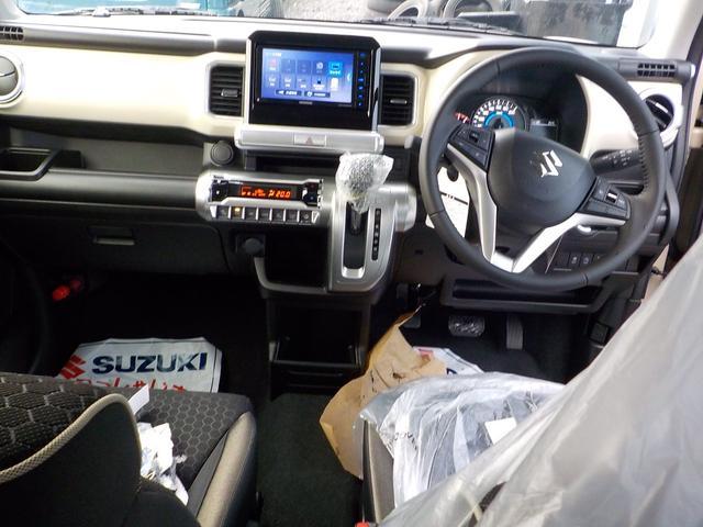 ハイブリッドMZ Bluetooth地デジナビ付登録済み未使用車 ハンズフリー USB端子 シートヒーター スズキセーフティ サポカー ハイブリッドターボ LEDヘッドライト メーカー保証付(6枚目)