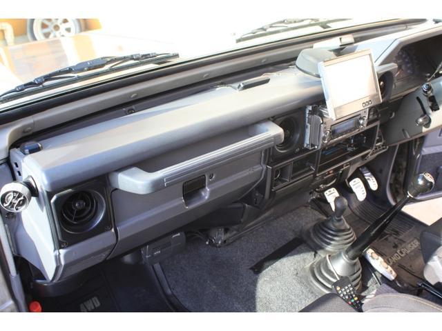 トヨタ ランドクルーザー70 ZX ワンオーナー 禁煙車 リフトアップ