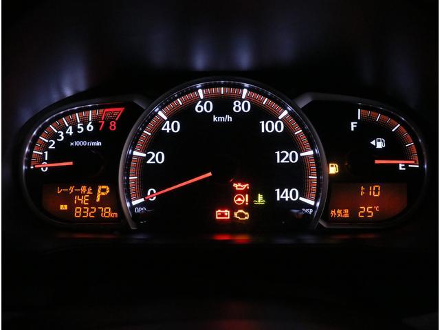 見やすいメーターパネル!ハンドル越しに確認出来るので目線をずらすこともなく安全に運転していただけます!