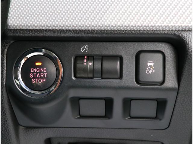 キーレスのプッシュスタート!鍵をバックに入れたままでもエンジンをかけられるのは便利ですよね!