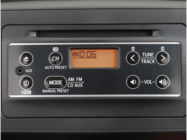 CD・ラジオ・AUX機能付きのオーディオです!