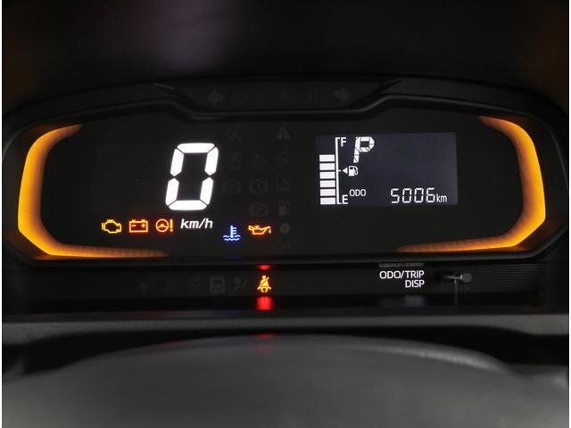 車両情報はメーターで解りやすく表示されます!