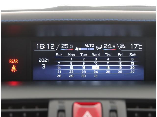 1.6GT-S EyeSight Advantage Lin カロッエリア8インチ スマートリヤビュー フロント・サイドカメラ(22枚目)