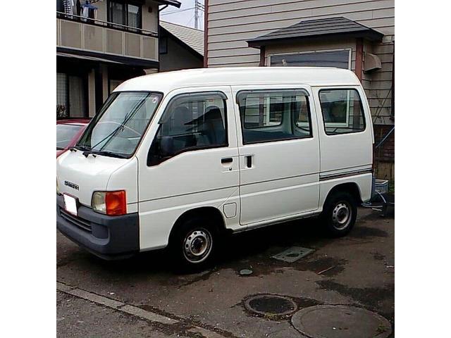 「スバル」「サンバーバン」「軽自動車」「栃木県」の中古車3