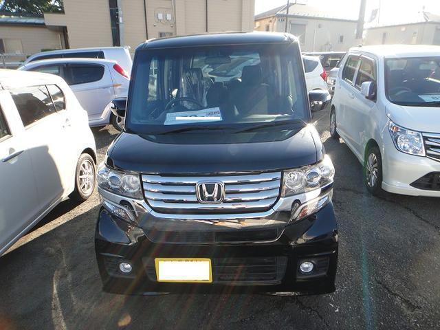 「ホンダ」「N-BOXカスタム」「コンパクトカー」「茨城県」の中古車3