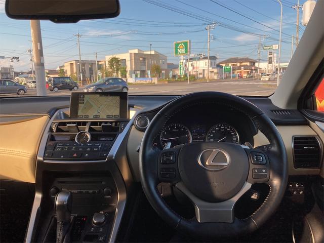 NX200t Iパッケージ ETC 全周囲カメラ クリアランスソナー オートクルーズコントロール パワーシート ターボ ナビ オートライト Bluetooth ミュージックプレイヤー接続可 USB CD 電動リアゲート(10枚目)
