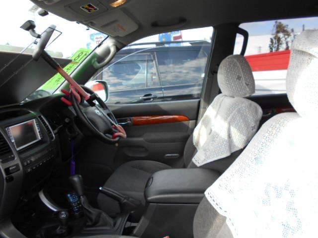 トヨタ ランドクルーザープラド TX 純正アルミ HDDナビ 4WD