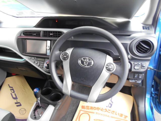 トヨタ アクア S HDDナビ バックモニター ETC