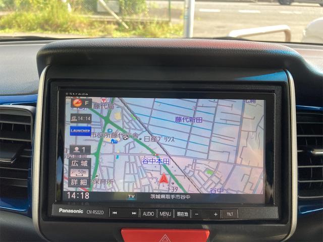 G ターボSSパッケージ ETC バックカメラ 両側電動スライドドア ナビ オートクルーズコントロール オートライト HID Bluetooth USB ミュージックサーバー CD スマートキー アイドリングストップ(3枚目)