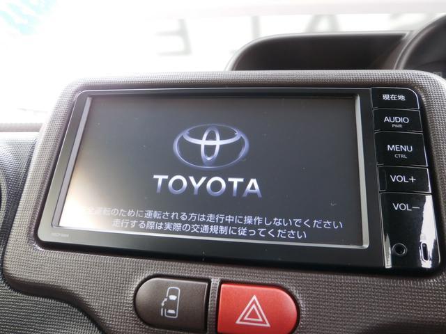 トヨタ ポルテ 1.3X メモリーナビ CD バックモニター