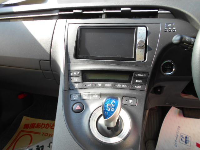 トヨタ プリウス Sツーリングセレクション 純正アルミ HDDナビ ETC