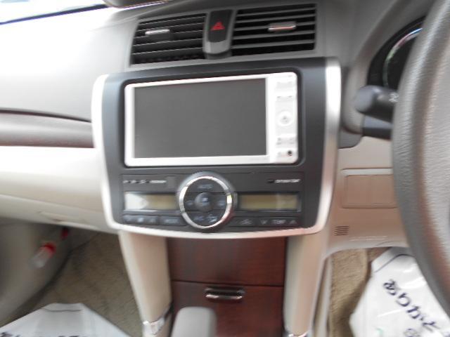 トヨタ アリオン A15 Gパッケージ メモリーナビ CD Bモニター ABS