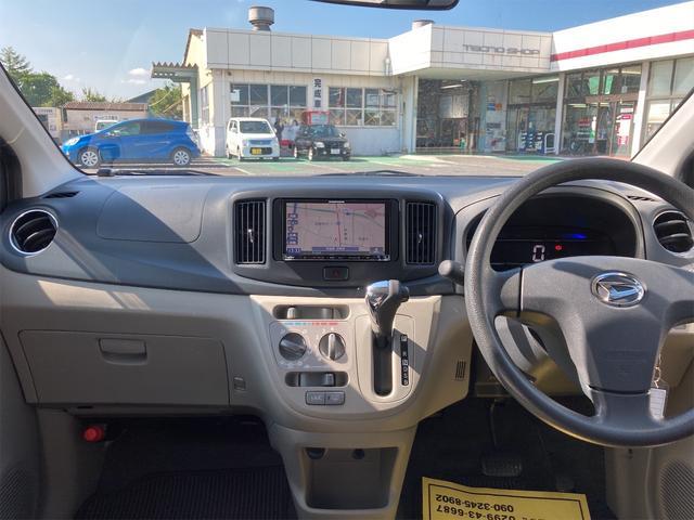 X ナビ Bluetooth CD キーレスエントリー アイドリングストップ 電動格納ミラー CVT アルミホイール 盗難防止システム 衝突安全ボディ ABS エアコン(2枚目)