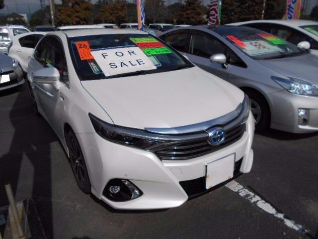 トヨタ SAI S ナビ バックモニター 地デジTV 純正アルミ ETC