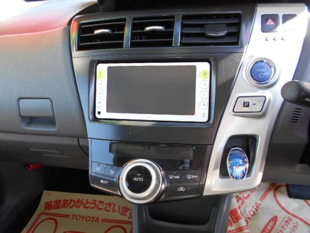 トヨタ プリウスアルファ S ETC SDナビ バックカメラ