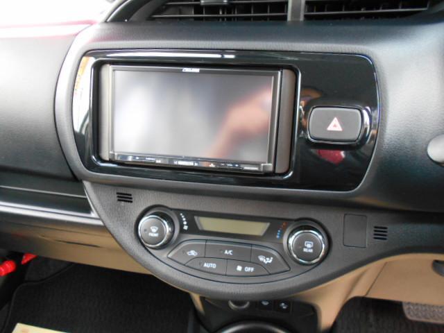 トヨタ ヴィッツ ハイブリッドF ナビ ETC ドライブレコーダー
