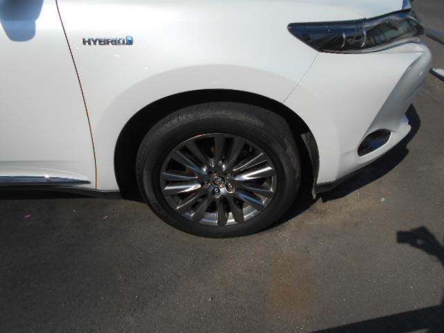 トヨタ ハリアーハイブリッド プレミアム 4WD ナビ JBLサウンド パワーバックドア