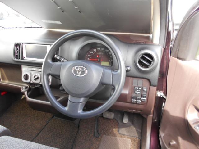 トヨタ パッソ X クツロギ アルミホイール メモリーナビ バックモニター