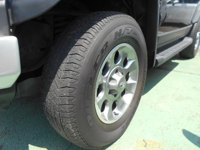 トヨタ FJクルーザー カラーパッケージ 純正アルミ HDDナビ 4WD