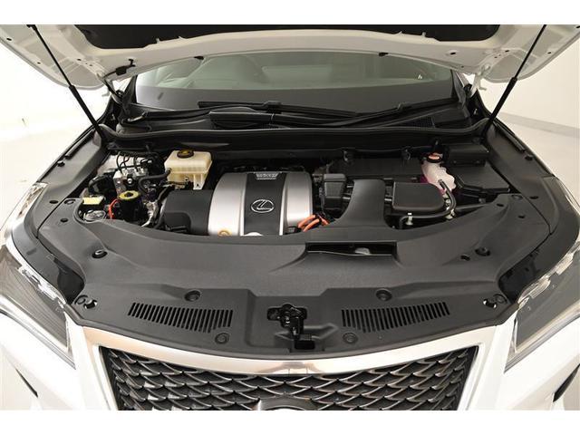 RX450h Fスポーツ PCS 本革S 4WD フルセグ スマートキー バックカメラ LED メモリーナビ ETC ナビTV パワーシート クルコン 盗難防止装置 DVD(20枚目)
